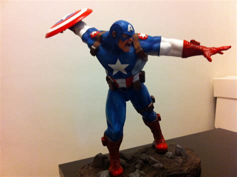 captain pose ultimate captain america 1 4 scale stew s statues