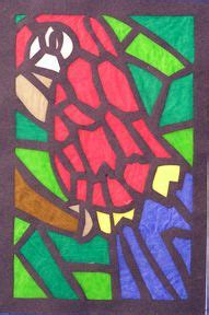 Paper Stained Glass Window Craft - the 120 best images about crafts tissue paper stained