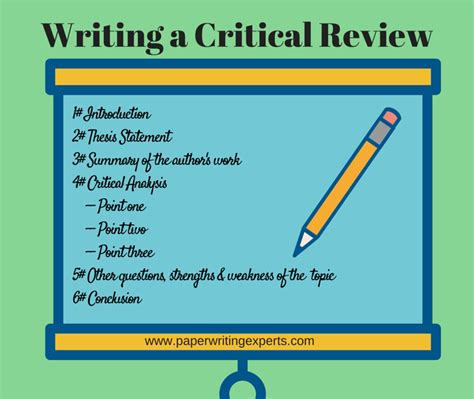 Critical Literature Review Essay by How To Write A Critical Analysis Paper Easy Step By Step