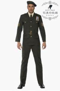 french style men fancy dress party police military costume