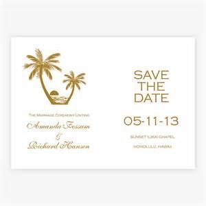 wedding invitations passports save the date gold