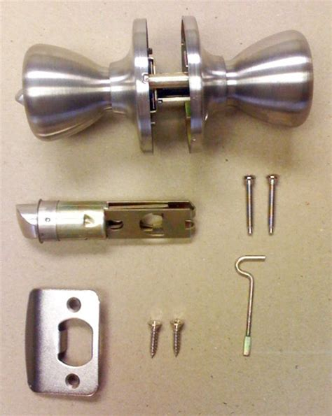 stainless steel privacy door lock set for mobile home