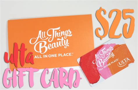Win Ulta Gift Card - win it 25 ulta gift card giveaway beauty junkies unite