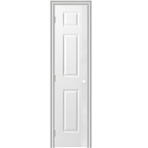 18 Prehung Interior Door Shop Reliabilt Prehung Hollow 6 Panel Interior Door Common 18 In X 80 In Actual 19 5 In