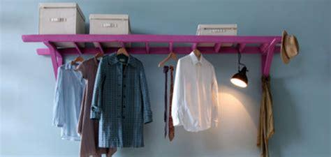 Leiter Garderobe by Diy Leiter Als Garderobe Geschnackvollgeschnackvoll