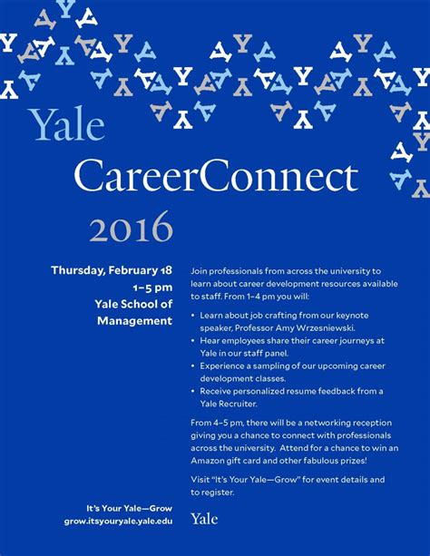 Yale Mba Invitation Date by Yale Careerconnect 2016 Asian Network Yale