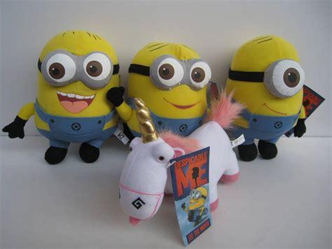 Loght Doll Minion minions 3d despicable me style plush