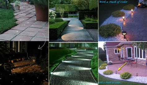 diy pathway lighting ideas for garden and yard colormag