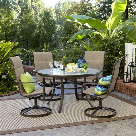 Garden Oasis Miranda 5 Piece Dining Set Shop Your Way Oasis Outdoor Furniture