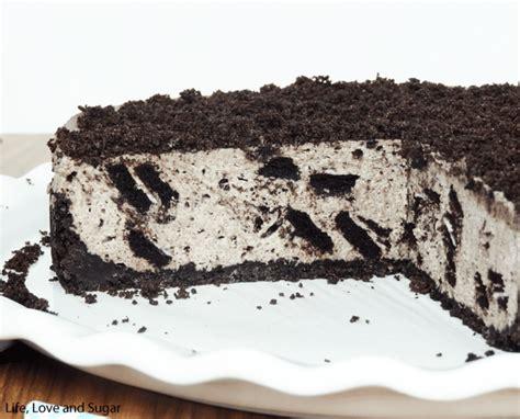 Oreo Cheese Cake no bake oreo cheesecake and sugar
