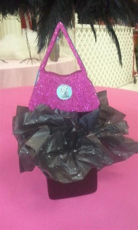 17 Best Images About Monster High Birthday Party Ideas On Purse Centerpiece Ideas