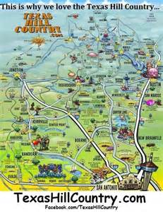 map of the hill country springtime in marcel s culinary experience