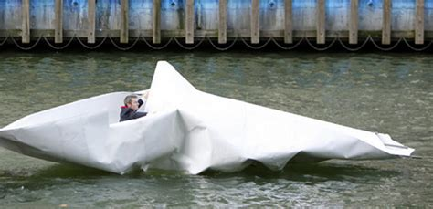 how to make a giant paper boat artist sails made a giant boat with paper xcitefun net