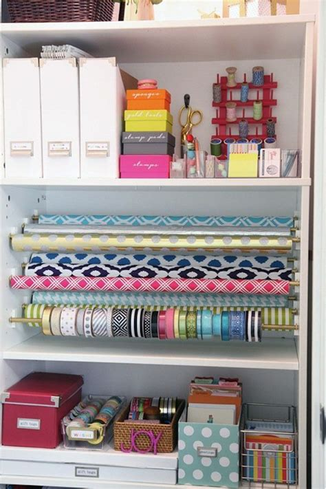 Craft Paper Storage Solutions - 25 best ideas about craft storage solutions on