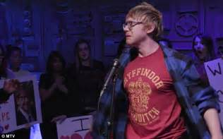 ed sheeran real name rupert grint has been secretly moonlighting as ed sheeran