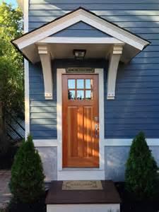 front door roof overhang custom structural brackets for small roof overhang