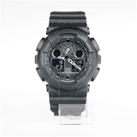 Casio G Shock Ga 100 Black casio g shock ga 100 1a1 black dwi digital