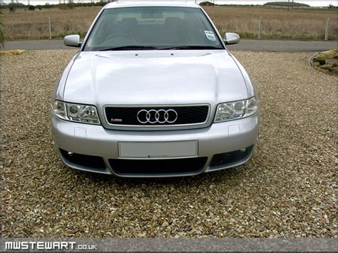 Audi A4 B5 Facelift by A4 B5 Facelift Front Bumper With Holes For Headlight