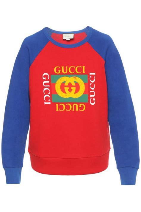 Baju Sweater Gucci Branded Murah Fit Xl logo printed sweatshirt gucci vitkac shop