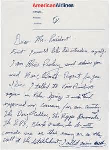 Certification Letter For Attendance Letter From Elvis Presley To President Richard Nixon 1970