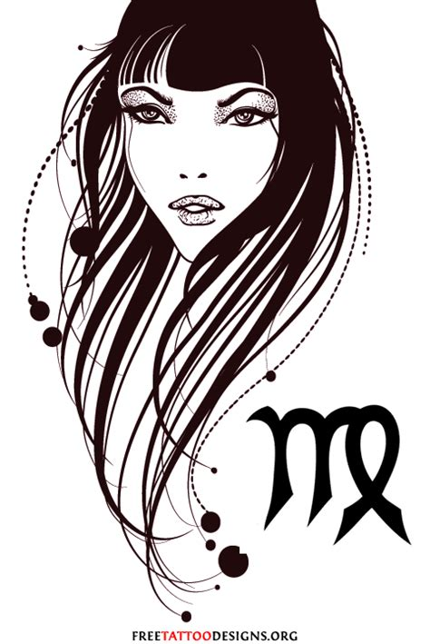 virgo design tattoo virgo tattoos 50 designs and ideas