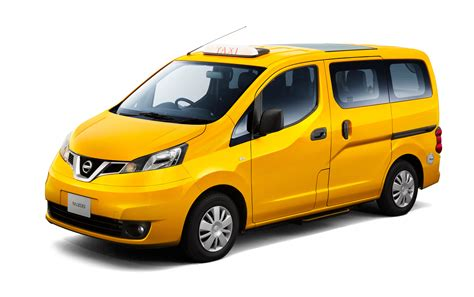 nissan nv200 taxi nissan introduces its new generation nv200 taxi in japan