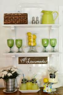 decorating ideas for kitchen shelves summer open shelves in my kitchen beneath my