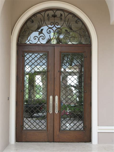 Wrought Iron Exterior Door How To Care Wrought Iron Front Doors Creative Home Decoration