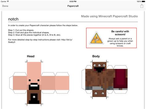 Minecraft Papercraft Studio Pc - app shopper minecraft papercraft studio