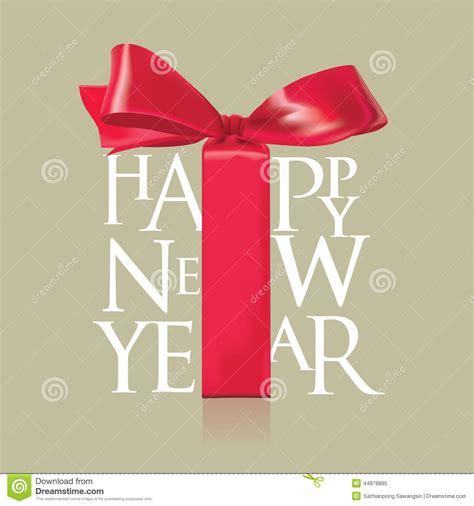 new year ribbon happy new year and ribbon stock vector image 44878895