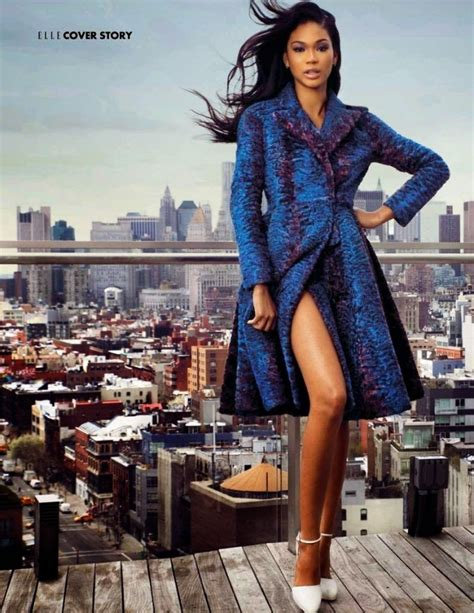 Fab Chanel Iman by Chanel Iman For Malaysia July 2014 Issue Donbleek