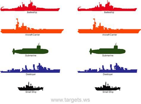 printable shooting targets battleship targets print your own fun game shooting targets