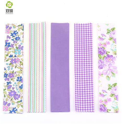 Purple Patchwork Fabric - aliexpress buy 2016 new 5 designs purple floral