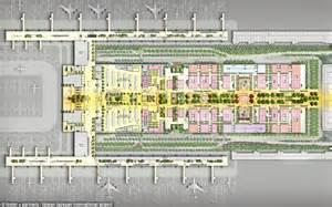 heathrow terminal 5 floor plan taiwan taoyuan international airport reveals jungle design