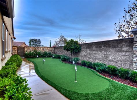 backyard golf hole best 25 backyard putting green ideas on pinterest golf