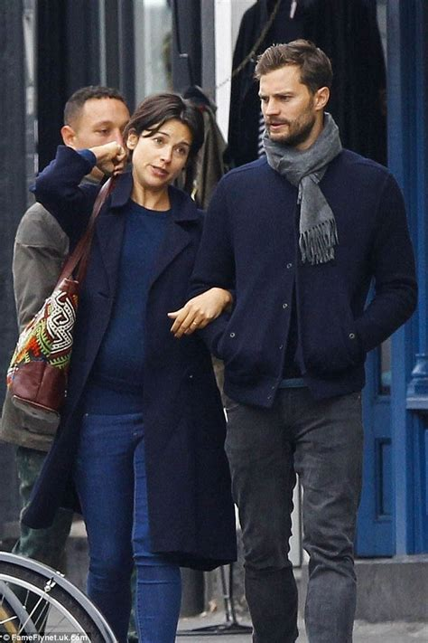 fifty shades of grey actors together fifty shades of grey star jamie dornan steps out with wife