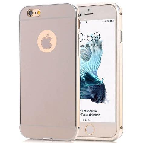 h iphone 8 iphone 8 plus h 252 lle bumper in silber spiegelnd handyhuellen 24 de