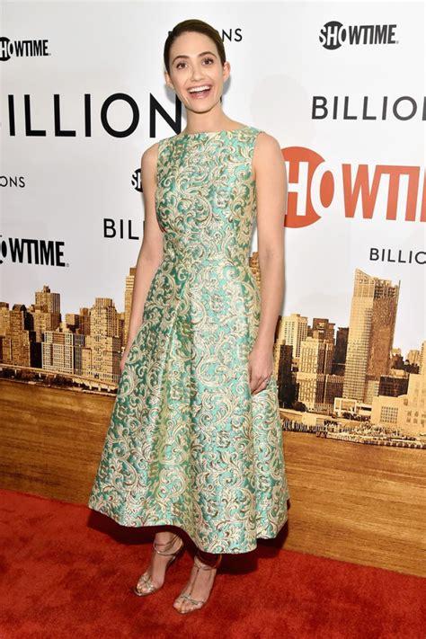 emmy rossum tv series emmy rossum billions tv series premiere in new york