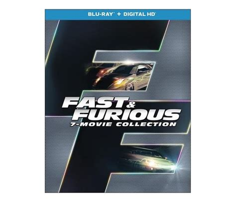 fast and furious 8 blu ray fast and furious 7 movie collection blu ray 8 discs