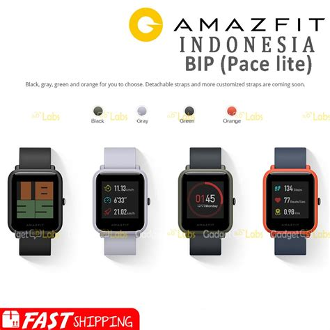 jual xiaomi huami amazfit bip smartwatch international