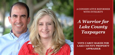 Lake County Florida Property Records Re Elect Carey Baker For Lake County Property Appraiser