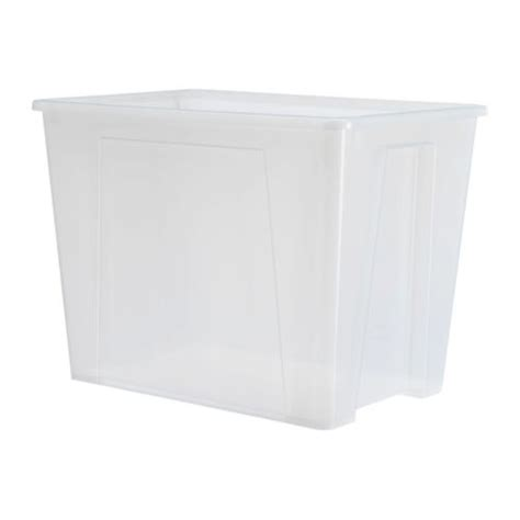 ikea box samla box clear ikea