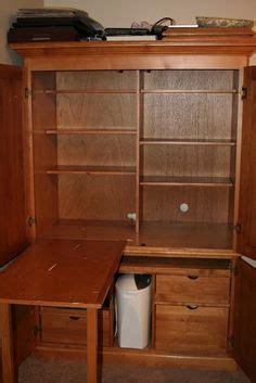 Broyhill Computer Armoire by Broyhill Pine Fontana Office Computer Armoire For Desk Tv