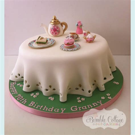 Birthday Cake by Bumble Cottage Cakes Gallery Of Birthday Cakes