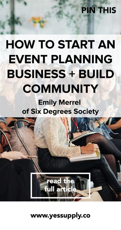 how to start a party planning business from home start an event planning business with emily of six degrees