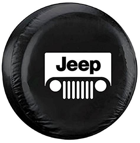Jeep Liberty Tire Cover Size Jeep Wrangler Liberty Classic Grill Logo Tire Cover R15 27 Quot