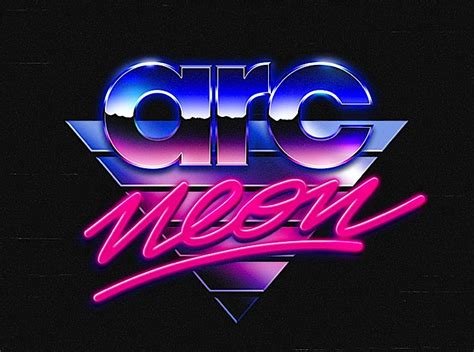 80 s design 80 s logo collection