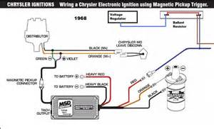 msd distributor wiring diagram moparts detail ideas cool