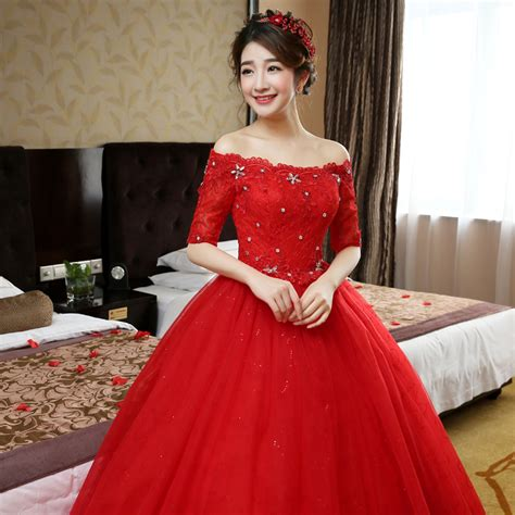dress design red colour wedding dresses in red wedding ideas