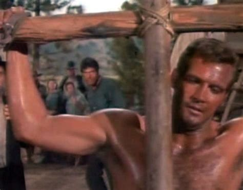 rock hudson shirtless boomer s beefcake and bonding the big valley the gay